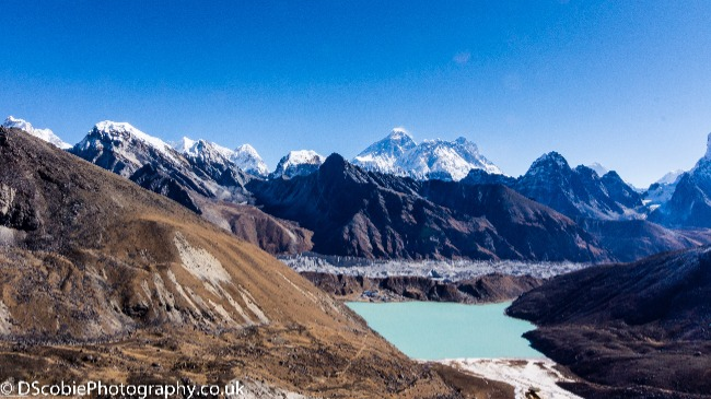 Himalayan glacier lake