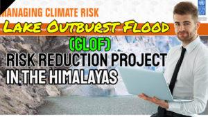 Image shows a GLOF Lake - Glacier GLOF image page.